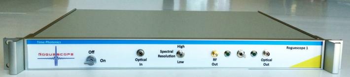 Time Photonics社 超高速シングルショット分光計 RogueScope