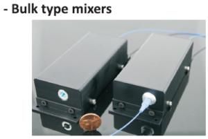 Bulk type mixers