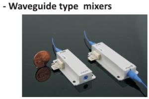 Waveguide type mixers